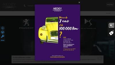 Site internet de Nedey Belfort
