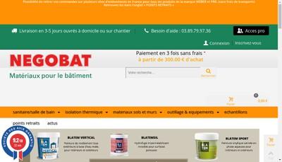 Site internet de Negobat
