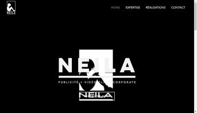 Site internet de Neila