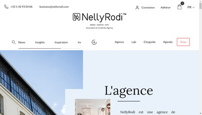 Site internet de Nelly Rodi Money Box