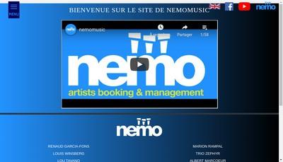 Site internet de Nemo E-Motive Records Capt'N Music Nemo