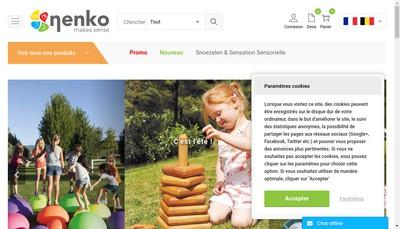 Site internet de Nenko