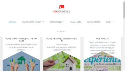 Site internet de Neo Energies