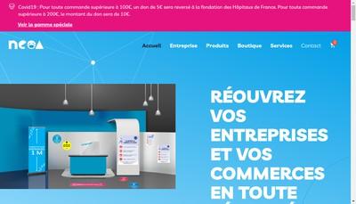 Site internet de Neoa