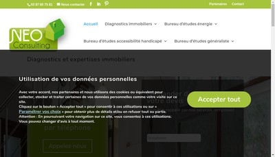 Site internet de 1) Abp+ 2) Neo Consulting Groupe
