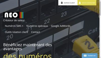Site internet de Neo Editions
