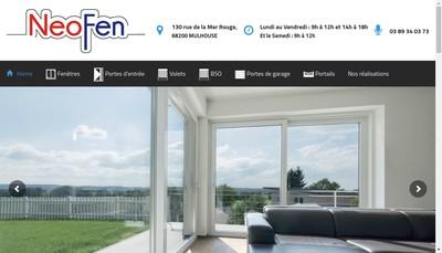 Site internet de Neofen et Commex