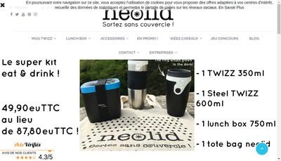 Site internet de Neolid