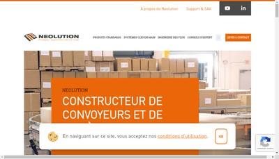 Site internet de Neolution
