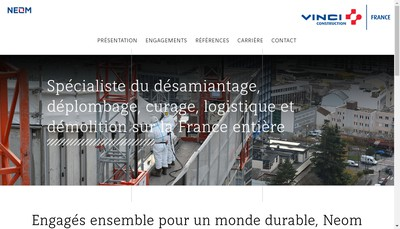 Site internet de Neom