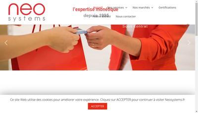Site internet de Neo Systems