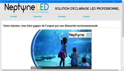 Site internet de Neptune Lumiere Electronique Dauphinoise