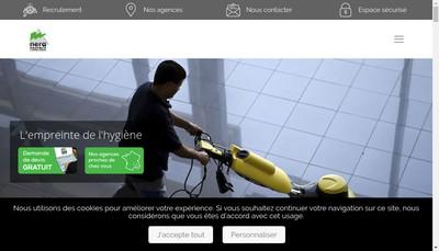 Site internet de Nera Proprete Provence