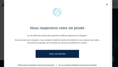 Site internet de Nerim Group