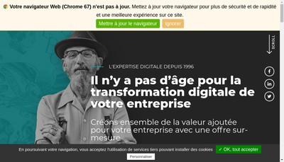 Site internet de Net Concept
