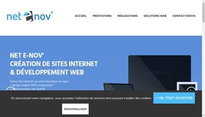 Site internet de Net E-Nov'