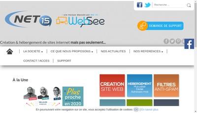 Site internet de Hebergement