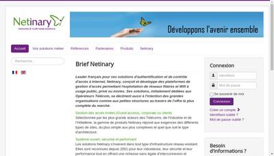 Site internet de Netinary