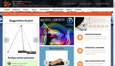 Site internet de Netjuggler