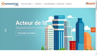 Site internet de Netseenergy