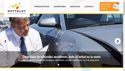 Site internet de Nettelet Expertises