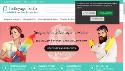 Site internet de Nettoyage-Facile Com