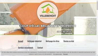 Site internet de Entreprise Villebenoit