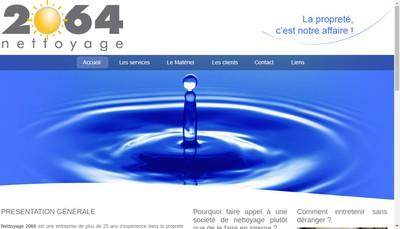 Site internet de Nettoyage 2064
