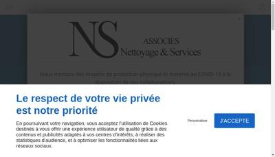 Site internet de Ns-Associes