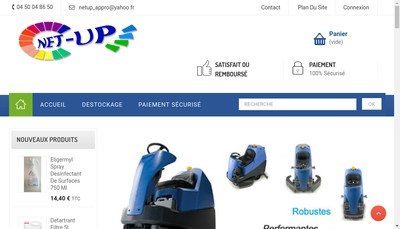 Site internet de Net'Up