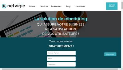 Site internet de Netvigie