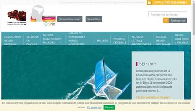 Site internet de Association Neuro-Bretagne