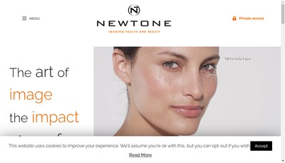Site internet de Newtone Technologies