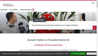 Site internet de Finaxium