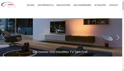 Site internet de Next Vision