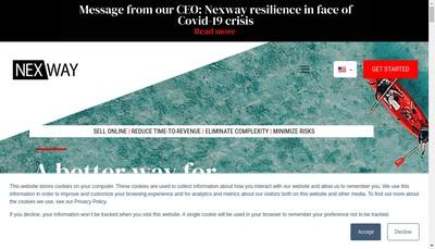 Site internet de Nexway