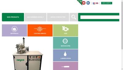 Site internet de Neyco
