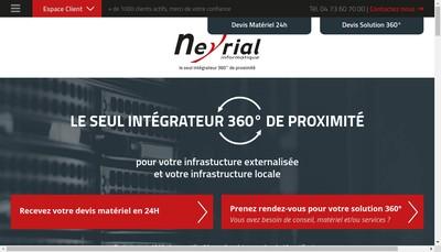 Site internet de Neyrial Informatique