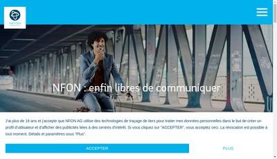 Site internet de Nfon France