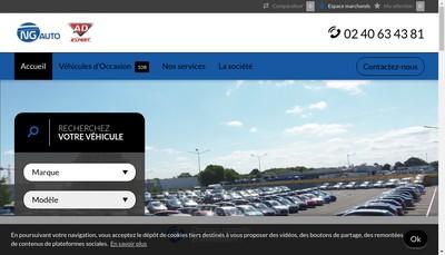 Site internet de Ng Auto