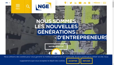 Site internet de Nge