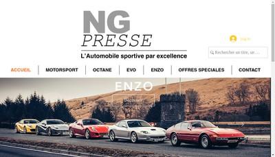Site internet de Ng Presse
