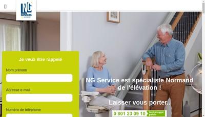 Site internet de Ng Services