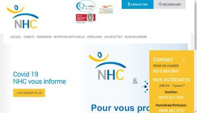 Site internet de Nhc