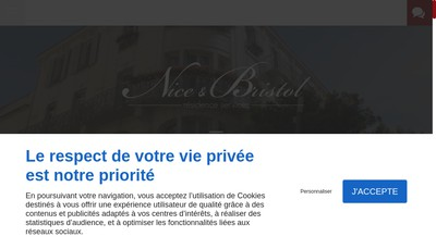 Site internet de Residence Nice et Bristol