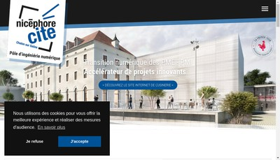 Site internet de Nicephore Cite