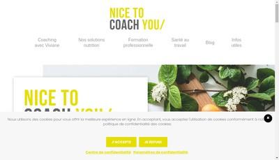 Site internet de Nice To Coach You