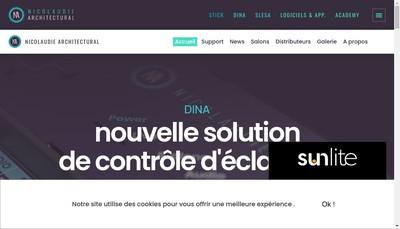 Site internet de Nicolaudie Europe- (Voir Suite)