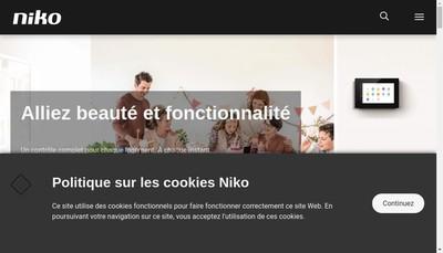 Site internet de Niko France