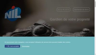 Site internet de Nettoyage Industriel du Littoral Nil